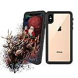 iPhone Xs 防水ケース iphone X 防水ケース Lapeno 耐衝撃 頑丈 防雪 防塵 完全防水 アイフォ……