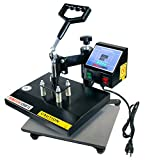 Transfer Crafts T-Shirt Heat Press & Digital Sublimation Machine (9 x...