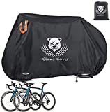 ClawsCover Bikes Covers Waterproof XXL 83' Heavy Duty 420D Oxford Bicycles Cover Accessories with Lock Hole Outdoor All Weather for Mountain Road Electric Beach Cruiser Exercise Hybrid Bike