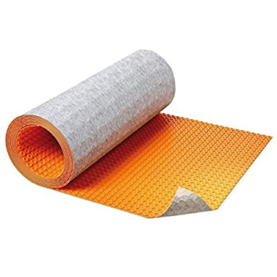 """Provides a thermal break that can reduce the warm-up time of a heating system by up to 70% Thickness : 5/16"""" - Covers 107.25 SF -"""