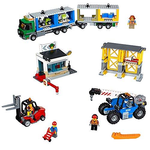 LEGO City Town Cargo Terminal 60169 Building Kit (740 Piece)