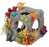 Europet Bernina Décor pour Aquarium en Polyrésine Cube Habitat...