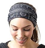 RiptGear Headband - Tribal Black and White