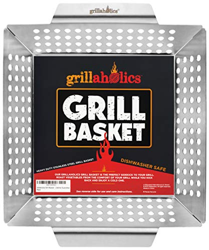 Grillaholics Heavy Duty Grill Basket
