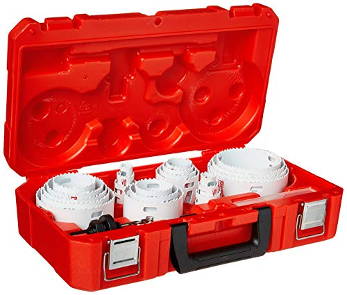 Milwaukee 49-22-4185 28-Piece All Purpose Professional Ice Hardened Hole...