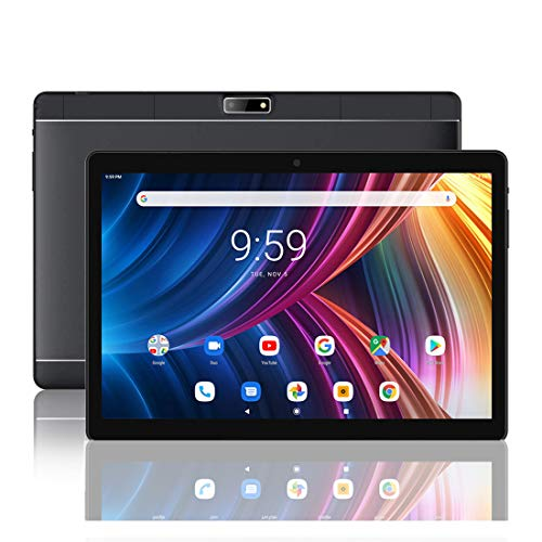 ZONKO 10 Inch Tablet, Dual Sim Card Slots Unlocked for Phone Call, 3G/WiFi,