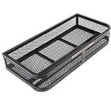 Toolsempire Universal Front ATV Hd Steel Cargo Basket Rack Luggage Carrier
