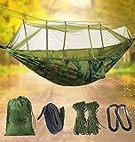 Idefair Hamac avec moustiquaire, Hamacs de camping...