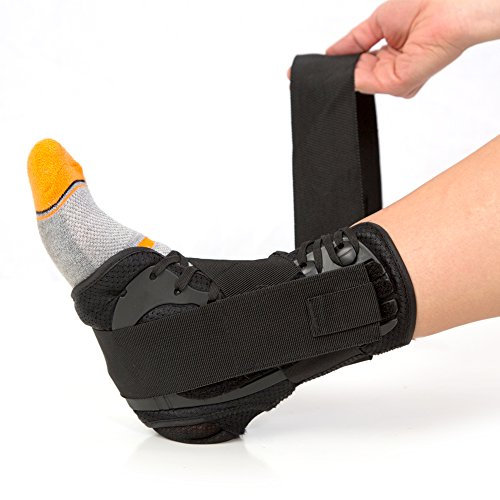 #1 Laced Ankle Brace with Stabilizing Strap for Flexible Support....