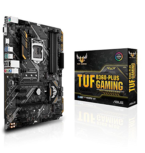 ASUS Intel B360 搭載 LGA1151 対応 マザーボード TUF B360-PLUS GAMING【ATX】