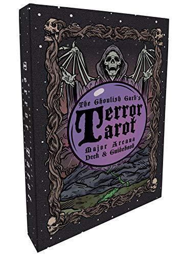 Terror Tarot: 22 Card Major Arcana Deck & Guidebook