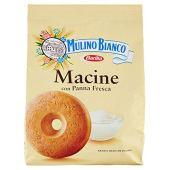 Mulino Bianco Biscotti Frollini Macine con Panna Fresca, Colazione Ricca di Gusto, 800g