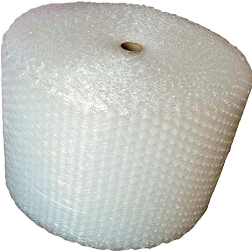 """Upkg 125ft Bubble Cushioning Wrap Rolls, 1/2"""" Big Air Bubble, 24 Inch x125 Feet Total, Perforated Every 24"""" for Packing, Shipping, Mailing"""