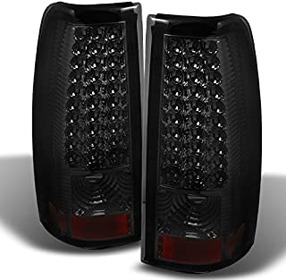 For 03-06 Chevy Silverado 04-06 GMC Sierra Pickup Truck SMoke LED Tail Lights Brake Lamps..