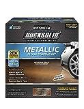 Rust-Oleum 286895 Rocksolid Metallic Garage Floor Coating, 70 fl oz, Earth Brown, 70 fl oz