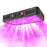 GROSSYLAND UL Certified 2000W LED Grow Light, with IR and UV Lights, Daisy Chain,Veg and Bloom Switches, High PPFD Value Full Spectrum Plant Growing Lights for Indoor Plants Veg and Flower