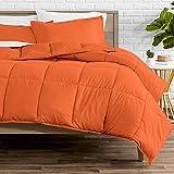 Bare Home Comforter Set - Twin/Twin Extra Long - Goose Down Alternative - Ultra-Soft - Premium 1800 Series - All Season Warmth (Twin/Twin XL, Orange)
