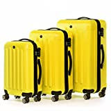 FERGÉ set di 3 valigie viaggio LYON - bagaglio rigido dure...
