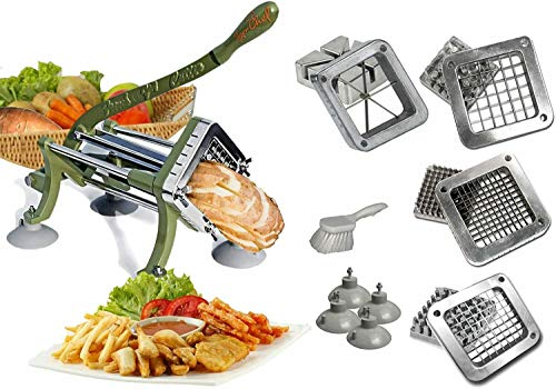 Tiger Chef French Fry Cutter Commercial Grade Heavy Duty...