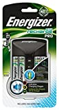 Energizer Carica Batterie Ricaricabili, Recharge Pro, per Batterie AA e AAA