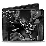 Buckle-Down Buckle-Down Bifold Wallet Batman Accessory, -Batman, 4.0' x 3.5'