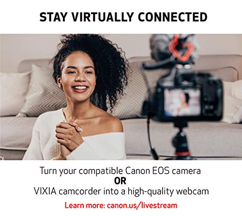 Product Image 5: Canon VIXIA HF R800 Portable Video Camera Camcorder with Audio Input(Microphone), 3.0-Inch Touch Panel LCD, Digic DV 4 Image Processor, 57x Advanced Zoom, and Full HD CMOS Sensor, Black