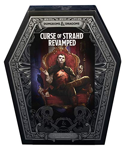 Curse of Strahd: Revamped Premium Edition (D&D Boxed Set)...