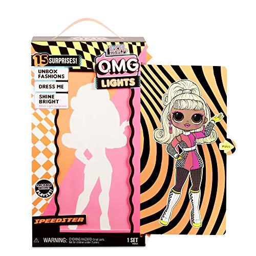 Image 8 - L.O.L. Surprise! Poupées mannequins collectionnables – Avec 15 surprises, vêtements et accessoires - Speedster – Série O.M.G. Lights