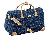 LONDON FOG Queensbury 20-Inch Large Satchel Bag, Navy, 16