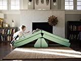 Foamnasium Blocksy Kids Couch, Mint