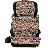 KidsEmbrace High-Back Booster Car Seat, DC Comics Chibi Justice League