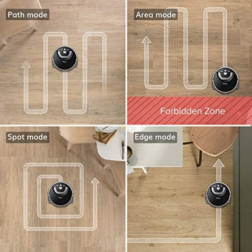 ILIFE Shinebot W400s, Mopping Robot, Wet Scrubbing, Floor Washing Robot, XL Water Tank, Zig-Zag Path, Ideal for Hard Floor 13