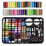 HEPAZ Kit de Couture, 200pcs Set de Couture Accessoires de Couture Premium avec étui de Transport,...