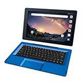 RCA Galileo 11.5 inches 32 GB Touchscreen Tablet Computer with Keyboard Case Quad-Core 1.3Ghz Processor 1GB Memory 32GB HDD Webcam WiFi Bluetooth Android 8.1 (11.5 inches, Blue) (Renewed)
