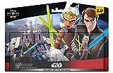 Disney Infinity 3.0: Play WITHOUT LIMITS souhaite maintenant la bienvenue à Star Wars dans la collection toujours croissante de personnages, d'histoires et de mondes Marvel, Disney et Disney Pixar Combattez le mal avec Anakin Skywalker et Ahsoka Tano...