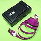 New Accessory Straight Talk/TracFone/Net10 LG 441G Universal Battery Charger Dock Home External Travel Micro USB Sync Data Cable from USA