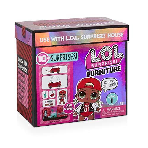 Image 4 - MGA- Meubles L.O.L Cozy Coupe avec poupée M.C. Swag et 10+ Surprises Toy, 564096E7C, Multicolore