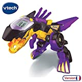 VTECH- Switch & GO Dinos-BRUTOR Voiture/Dinosaure, 80-195205, Multicolore...
