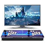 [8000 HD Games] Pandoras Box 3D Arcade Video Game Console 720P Game System with 8000 Games Supports PC TV 2 Players