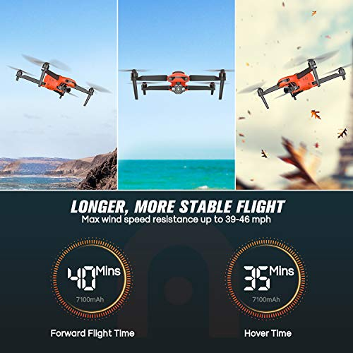 Product Image 5: Autel Robotics EVO 2 Pro Drone 6K HDR Video for Professionals Rugged Bundle with $498 Value Accessories Kit (2021 Newest Ver.)