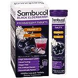 Sambucol Black Elderberry plus Vitamin C & Zinc, 15 Effervescent Tablets