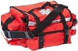 Primacare KB-RO74-R Trauma Bag, 7' Height x 17' Width x 9' Depth, Red Medical Bag