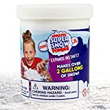 Amazing Super Snow Powder By Be Amazing! Toys - Faux Snow - Makes Over 2 Gallons Of Artificial Snow - Includes Plastic Bucket, Shovel & Mess-Free Play Mat - Non-toxic Snow For Kids – Ages 4+