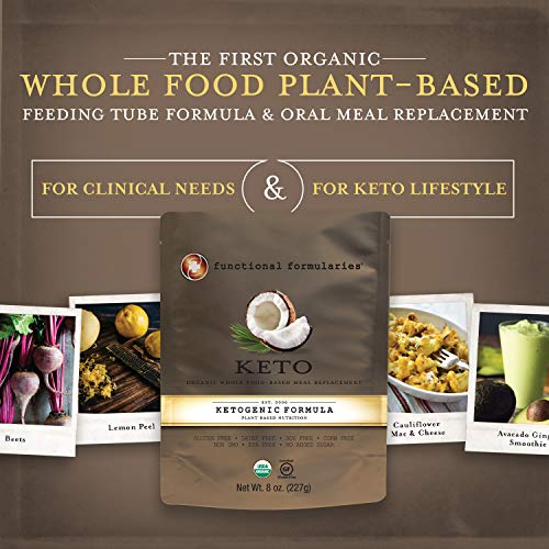 Functional Formularies Ketogenic Meal Replacement Supplement, Add to Your Recipes for Perfectly Balanced Keto Organic Nutrition, 24 Pack 2