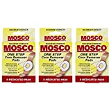 Mosco One-Step Medicated Corn Remover Pads | Maximum Strength | 8-Count per Pack | 3-Pack