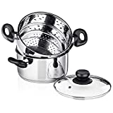 Chef's Star 3 Piece Stainless Steel...