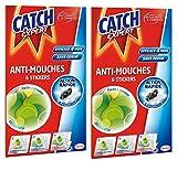 Catch Expert – Autocollants Anti–Mouches Décoratifs – 12 Stickers (Lot de...