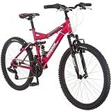 24' Mongoose Ledge 2.1 Girls' Mountain Bike, Pink