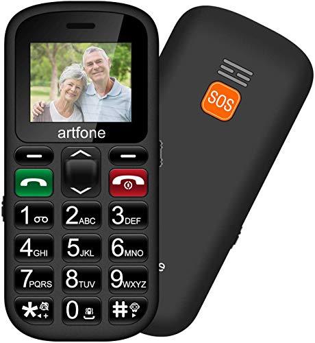 ODLICNO Teléfonos Móviles para Mayores con Teclas Grandes...
