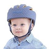 Casque de sécurité ajustable pour bébé Casque de protection pour bébé...